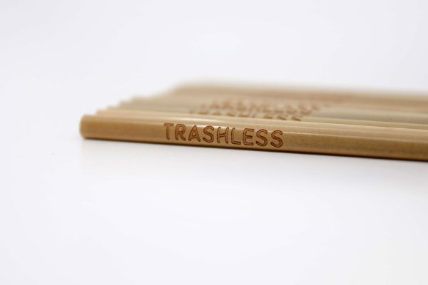 Trashless Bambusstrohhalme